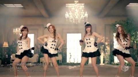 Secret - Twinkle Twinkle (HD 720p) Japanese