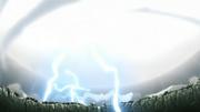 Los ataques de Naruto y Sasuke colisionan