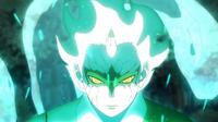 Mitsuki en Modo Sabio y Transformación del Sabio