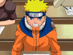 Naruto At The Written Exams