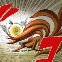 Ultra Grande Bola Rasengan Naruto Mangá