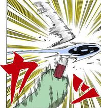 Darui corta a lâmina de Kisame (Mangá)