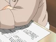 Hinata oferecendo cola para Naruto
