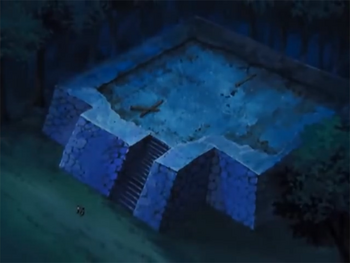 Las ruinas del antiguo Castillo Kubisaki