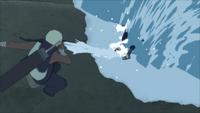 Liberação de Água - Formação da Parede de Água (Darui - Game)