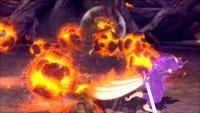 Liberação de Lava - Técnica Riacho de Rocha Escaldante (Momoshiki - Game)