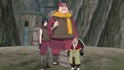 Tsuchikage & guardespaldas