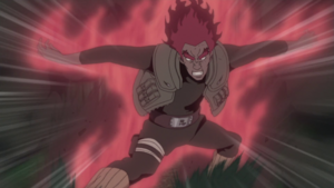 Formacion de Liberacion de las Ocho Puertas Anime