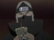 Kakuzu counting money