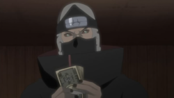 Kakuzu counting money