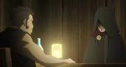 Jigen reunido con el padre de Kawaki