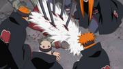 Jiraya tué par Pain
