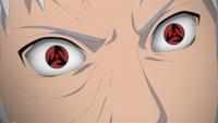 Mangekyō Sharingan de Obito (Anime)