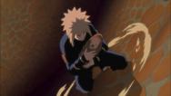 Minato Salva Naruto