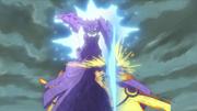 Sasuke ataca pelas costas (Anime)
