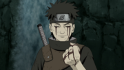 Shisui gives his eye
