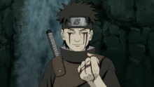Shisui gives his eye