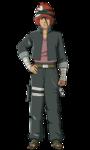 Iwabee como Genin (Anime)