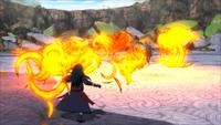 Liberação de Fogo Técnica de Liberação do Som do Dragão de Chama (Madara - Game)