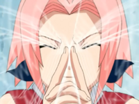Dissipação de Genjutsu (Sakura)