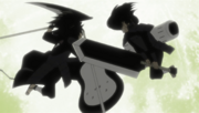 Hashirama contra Madara con su Bukijutsu