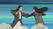 Hiashi combattant Hizashi