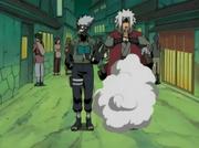 Jutsu de Cuerpo Parpadeante Anime 1
