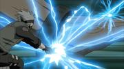 Kakashi ataca o Gedo Mazo