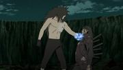Madara derrota a Hashirama
