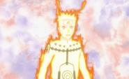 Naruto no modo Kyubi