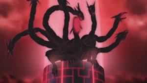 Seven-tailed Naruto clone
