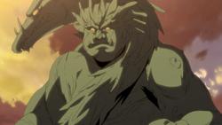 Giant Wood Human