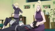 Ino tends to Sai