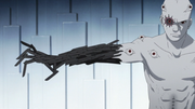 Jutsu de Manipulación de Armas Manipulación de escalpelos para formar un brazo