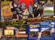 Naruto Blazing Anbu Itachi, Shisui Uchiha y Borutage Orochimaru Mision proximamente