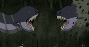 Yahiko y Nagato son emboscados por una segunda criatura