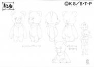 Arte Pierrot - Urso de Pelúcia Kenta