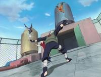 Kakashi Stops The Fight