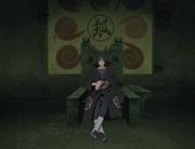 O trono do Esconderijo Uchiha