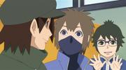 Dōshu e Hōki são contrariados por Denki