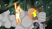 Elemento Agua Jutsu de Burbujas Anime 3