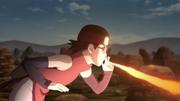 Liberação de Fogo (Sarada - Anime)