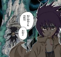 Orochimaru Oculta-se na Superfície (Mangá)