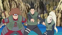Ino-shika-cho contro i spadaccini