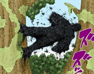 Jutsu Secreto Esfera de Insectos Manga