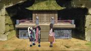 Time Asuma se reúne com a mãe das crianças