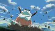 Naruto invoca Gamahiro