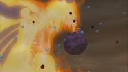 Naruto usando Bijudama