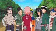 Sakura le pide a Naruto traer de vuelta a Sasuke