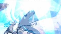 Corte Relâmpago - Perfuração das Luzes Gêmeas (Kakashi - Anime)